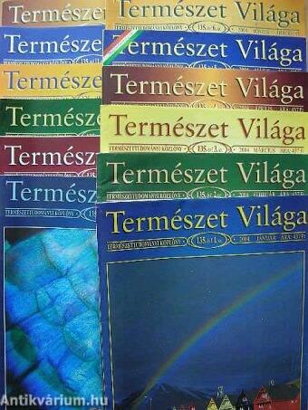 Természet Világa 2004. január-december