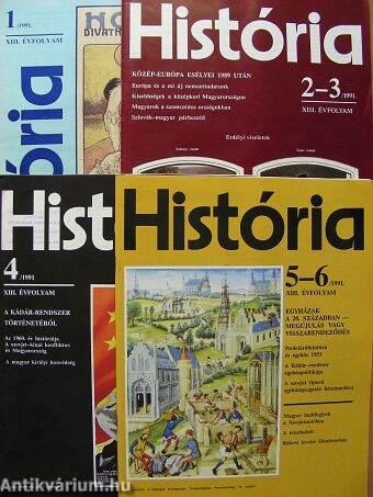 História 1991/1-6.
