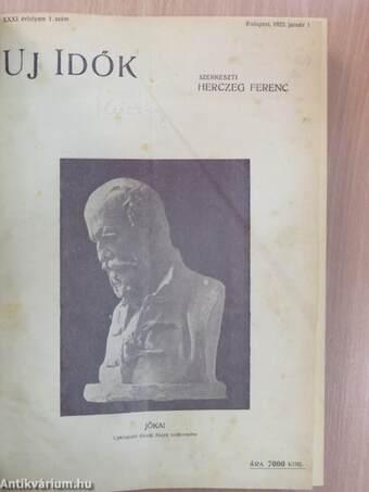 Uj Idők 1925. I-II. (nem teljes évfolyam)