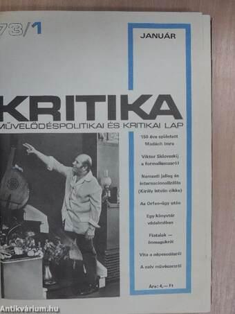 Kritika 1973. január-december