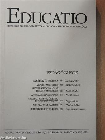 Educatio 1993. tél