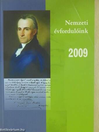 Nemzeti évfordulóink 2009