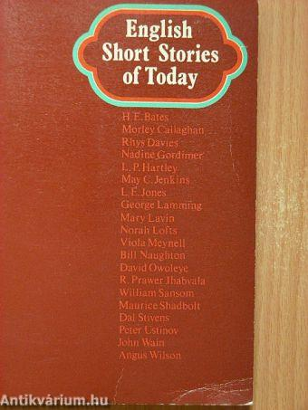 English Short Stories of Today