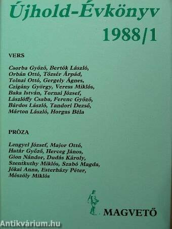 Újhold-Évkönyv 1988/1