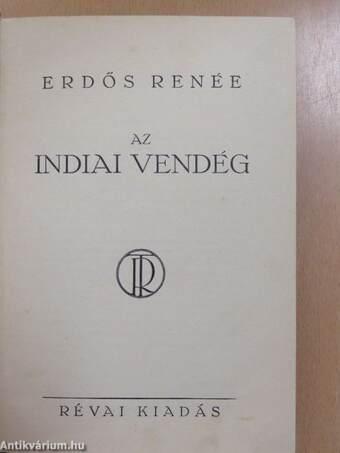 Az indiai vendég (aláírt példány)