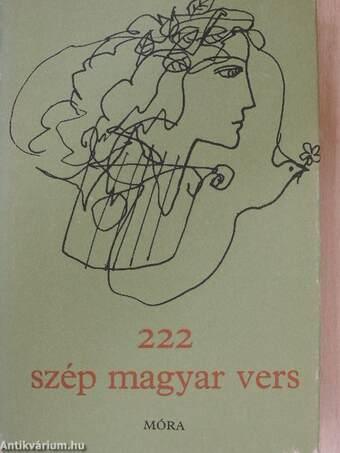 222 szép magyar vers