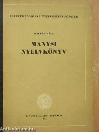Manysi nyelvkönyv