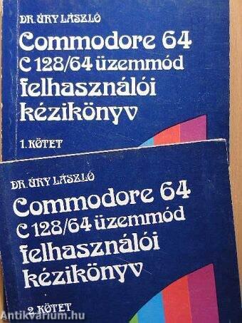 Commodore 64, C128/64 üzemmód felhasználói kézikönyv 1-2.