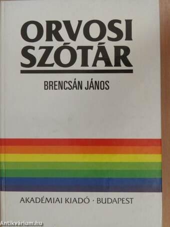 Orvosi szótár