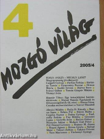 Mozgó Világ 2005. április