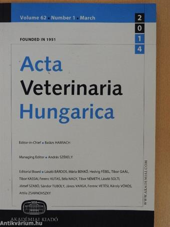 Acta Veterinaria Hungarica March 2014