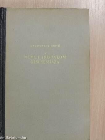 A német irodalom kincsesháza