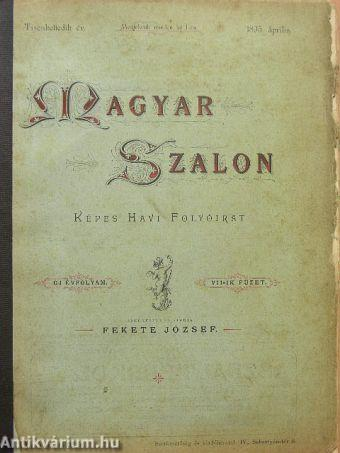 Magyar Szalon 1895. április