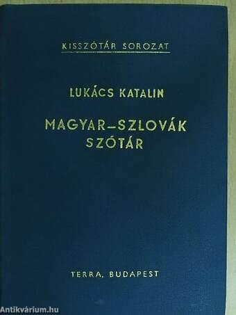 Magyar-szlovák szótár
