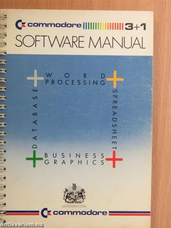 Commodore plus/4 - Integrated Software Manual