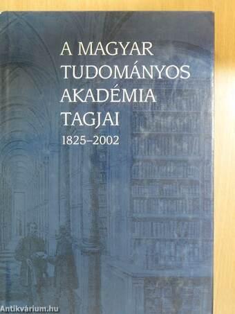 A Magyar Tudományos Akadémia tagjai III. (töredék)
