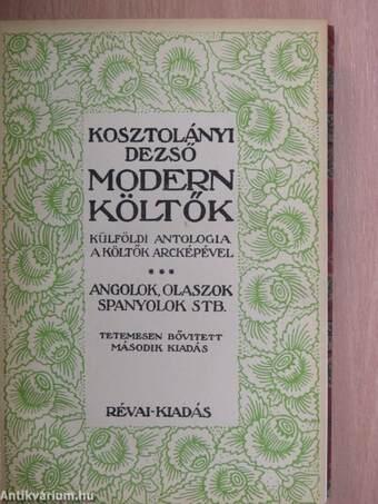Modern költők III.