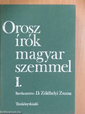 Orosz írók magyar szemmel I. (töredék)