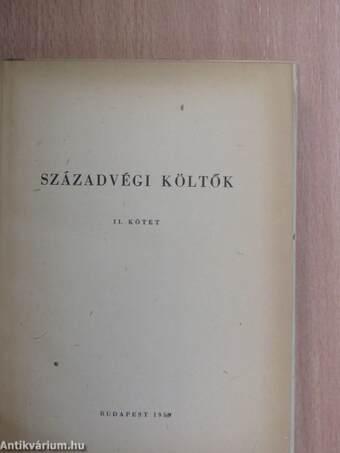 Századvégi költők II.