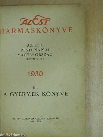 Az Est hármaskönyve 1930. III.