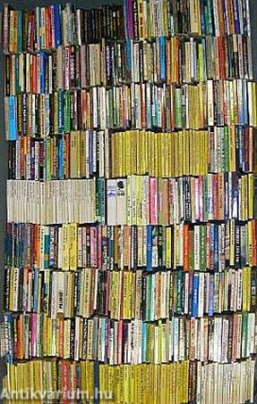 """""""650 kötet akció-, kaland- és bűnügyi regény"""""""