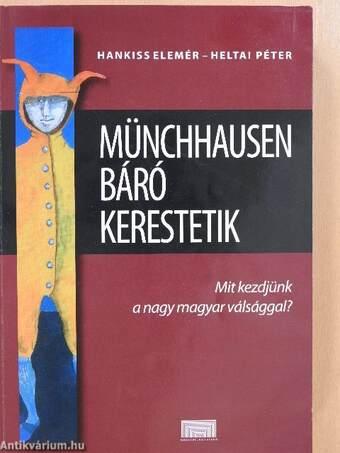 Münchhausen báró kerestetik (dedikált példány)