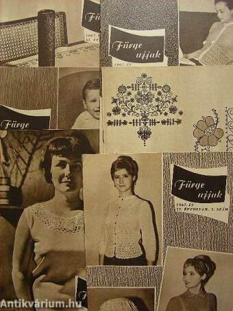 Fürge Ujjak 1967. január-december - A 60-as évek ruhái