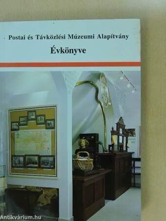 Postai és Távközlési Múzeumi Alapítvány Évkönyve 1998
