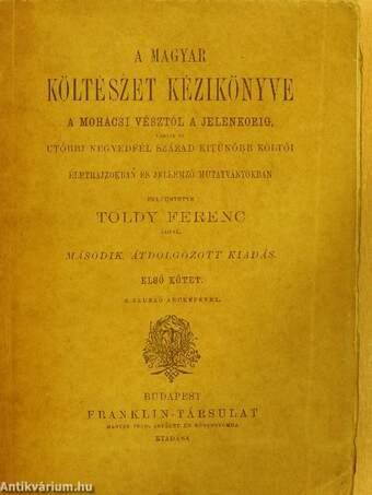 A magyar költészet kézikönyve I. (töredék)