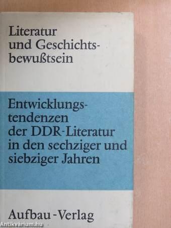 Literatur und Geschichtsbewußtsein