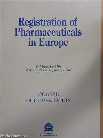 Registration of Pharmaceuticals in Europe