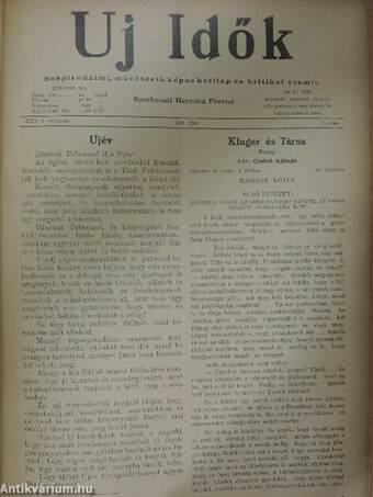 Uj Idők 1933. (nem teljes évfolyam) I-II.