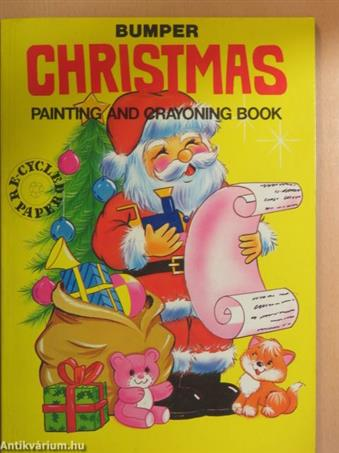 Bumper Christmas Painting and Crayoning Book