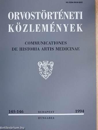 Orvostörténeti közlemények 145-146.