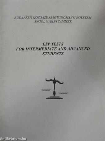 ESP Tests for Intermediate and Advanced Students