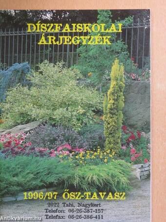 Díszfaiskolai árjegyzék 1996/97.