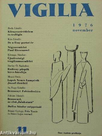 Vigilia 1976. november