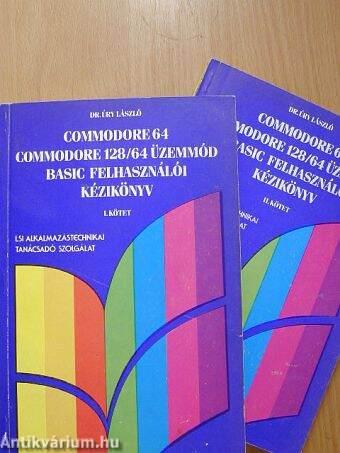 Commodore 64, Commodore 128/64 üzemmód BASIC felhasználói kézikönyv 1-2.