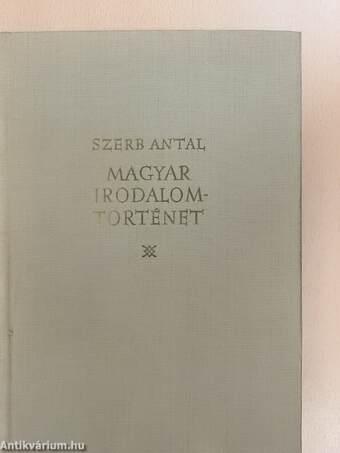 Magyar irodalomtörténet