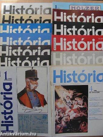 História 1980-1999. (vegyes számok)