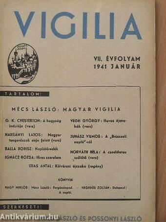 Vigilia 1941. január