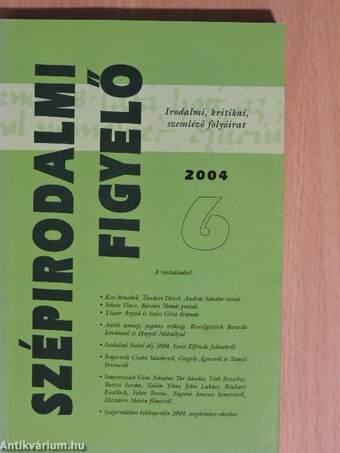 Szépirodalmi figyelő 2004/6.