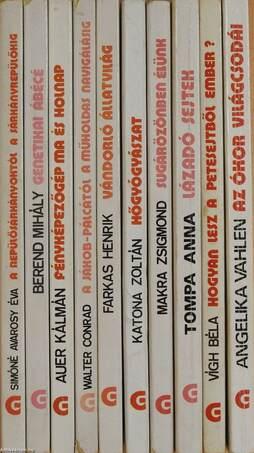 """""""10 kötet a Gondolat Zsebkönyvek sorozatból (nem teljes sorozat)"""""""