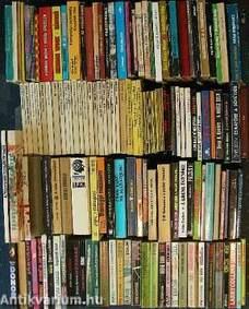 """""""151 kötet akció, kaland, krimi és sci-fi regény"""""""