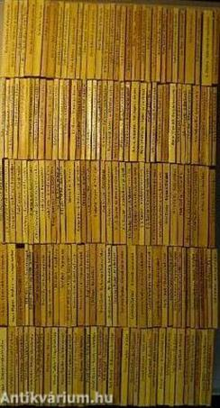 """""""170 kötet az Albatrosz könyvek sorozatból (nem teljes sorozat)"""""""