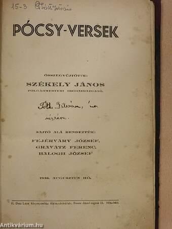 Pócsy-versek