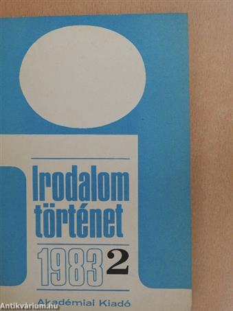 Irodalomtörténet 1983/2.