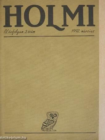 Holmi 1992. március