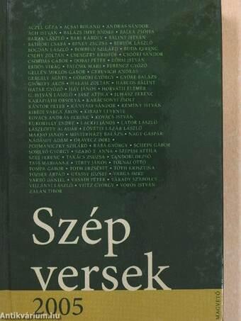 Szép versek 2005