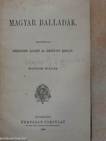 Magyar balladák